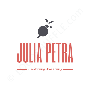 Health Logo Julia Petra Nutritionist - Logo Design Example Health