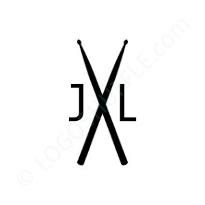 Band Logo J & L - Logo Design Example Band
