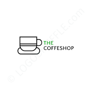 Cafe & Coffee Shop Logo The Coffeshop - Logo Design Example Cafe & Coffee Shop