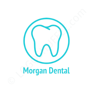 Dental Logo Morgan - Logo Design Example Dentist