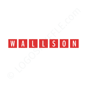 Construction Logo Wallson - Logo Design Example Construction