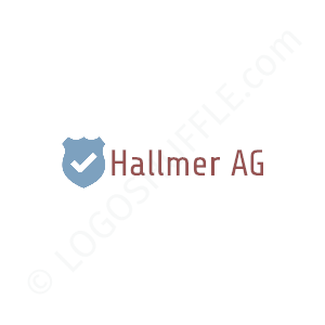 Security Logo Hallmer AG - Logo Design Example Security