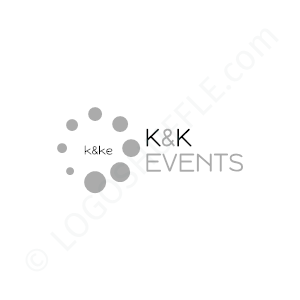 Event Logo K & K - Logo Design Example Event
