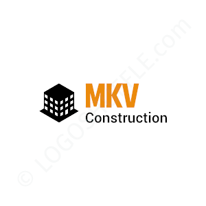 Construction Logo MKV - Logo Design Example Construction