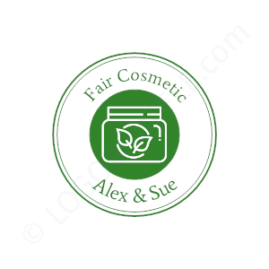 Boutique Logo Alex & Sue Fair Cosmetic - Logo Design Beispiel für Boutiquen