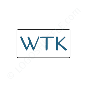 Finance Logo WTK - Logo Design Example Finance