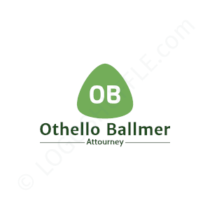 Lawyer Ballmer Attorney - Logo Design Example Lawyer