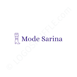 Fashion & Clothing Logo Mode Sarina - Logo Design Example Fashion & Clothing