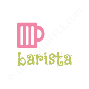 Cafe & Coffee Shop Logo barista - Logo Design Example Cafe & Coffee Shop