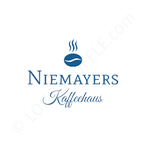 Kaffeehaus Niemayer- Logo Design Example Cafe & Coffee Shop