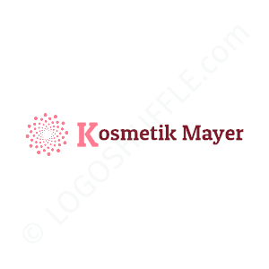 Beauty & Cosmetics Mayer - Logo Design Example Cosmetics