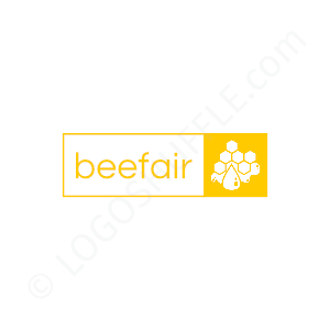 Health Logo Bee Fair - Logo Design Example Food & Health