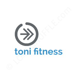 Personal Trainer Logo Toni Fitness Trainer - Logo Design Example Personal Trainer