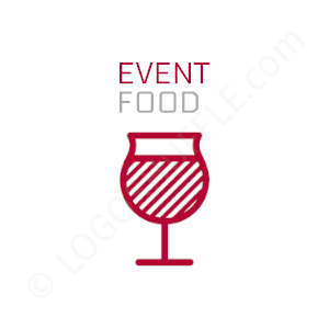 Catering & Party Service Logo Event Food - Logo Design Example Catering