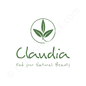 Beauty & Cosmetics Logo Claudia Beauty - Logo Design Example Cosmetics