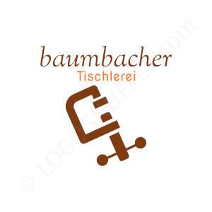 Carpenter Logo Baumbacher carpentry - Logo Design Example Carpenter