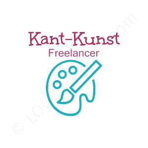 Freelancer Logo Kant Kunst - Logo Design Beispiel für Freelancer