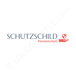 Security Logo Schutzschild Personal protection - Logo Design Example Security