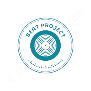 DJ Logo Beat Project - Logo Design Example DJ