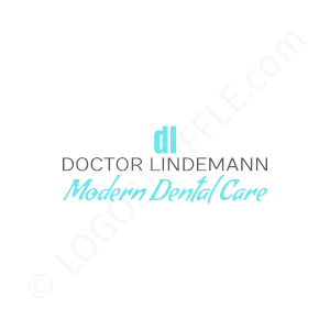 Dental Logo Doctor Lindemann Modern Dental Care - Logo Design Example Dentist