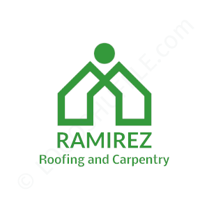 Roofing Logo Ramirez Roofing and Carpentry - Logo Design Example Roofer