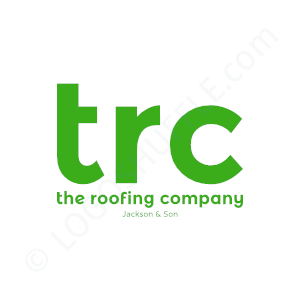 Roofing Logo TRC the roofing company - Logo Design Example Roofer
