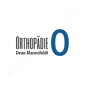 Medical & Doctor Logo Dr Mannsfeldt Orthopädie - Logo Design Example Medical & Doctor