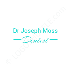 Dental Logo Doctor Joseph Moss - Logo Design Example Dentist