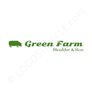 Farm Logo Green Farm Moulder & Son - Logo Design Example Farmer
