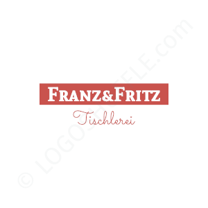 Carpenter Logo Franz Fritz - Logo Design Example Carpenter