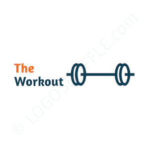 Personal Trainer Logo The Workout - Logo Design Example Personal Trainer